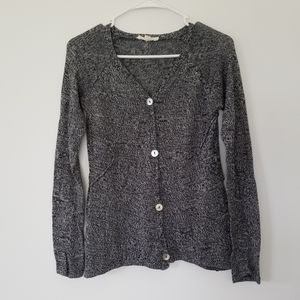 Tulle Anthropologie knit Button up Cardigan Small